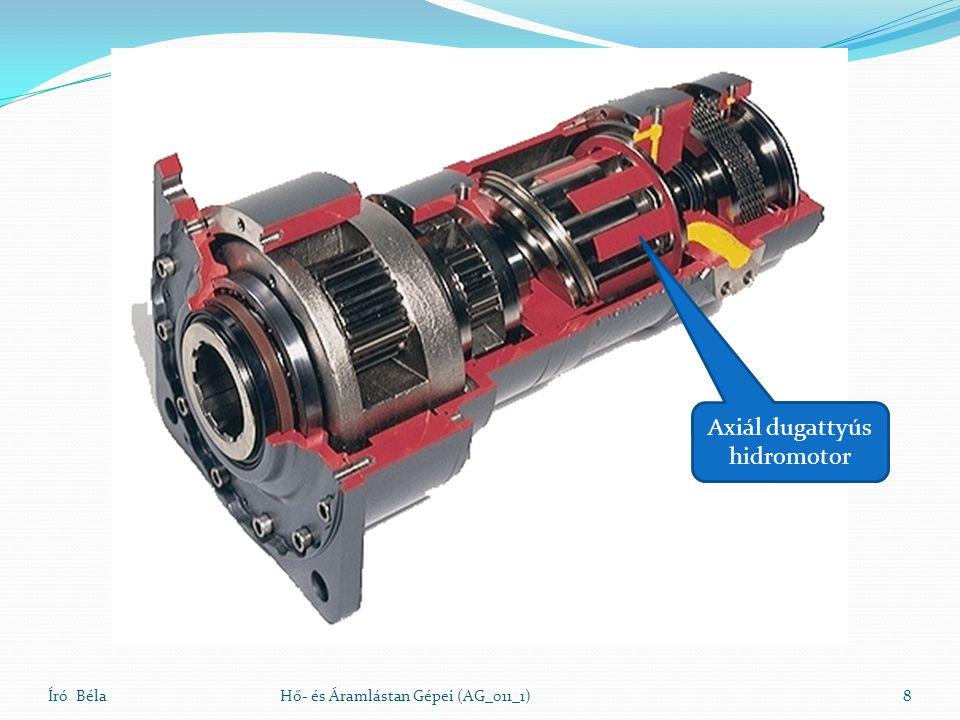 A Bánki turbina sebességi háromszögei Író BélaHő- és Áramlástan Gépei (AG_011_1)19 u 1 =u 2 w1w1 w2w2 c1c1 c2c2 30 o 16 o A be és a kilépő relatív sebesség egyenlő kell legyen, ha nincs túlnyomás a járókerékben!