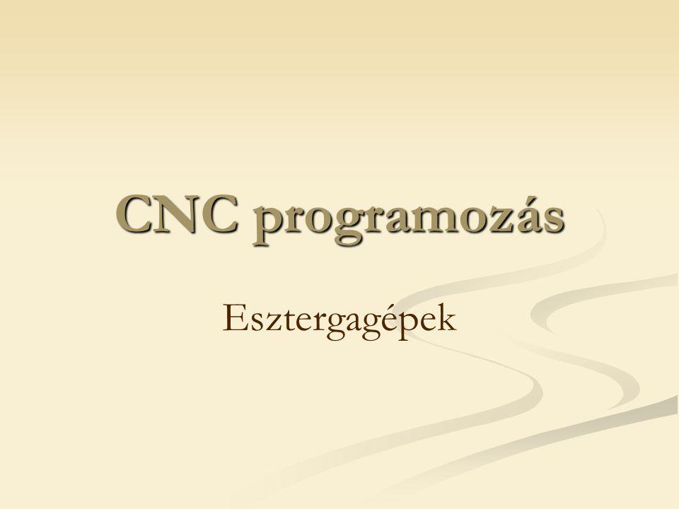 CNC programozás Esztergagépek