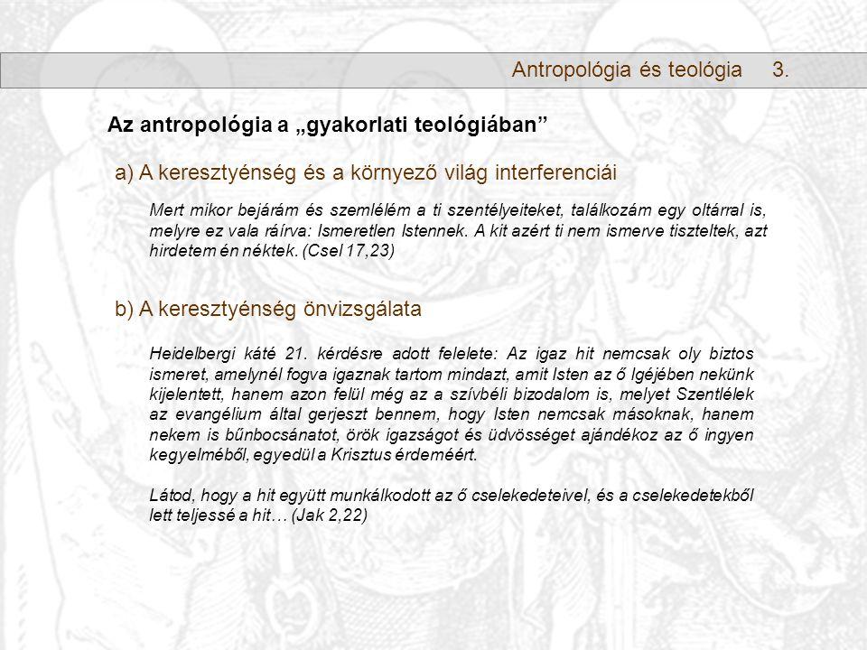Antropológia és teológia3.