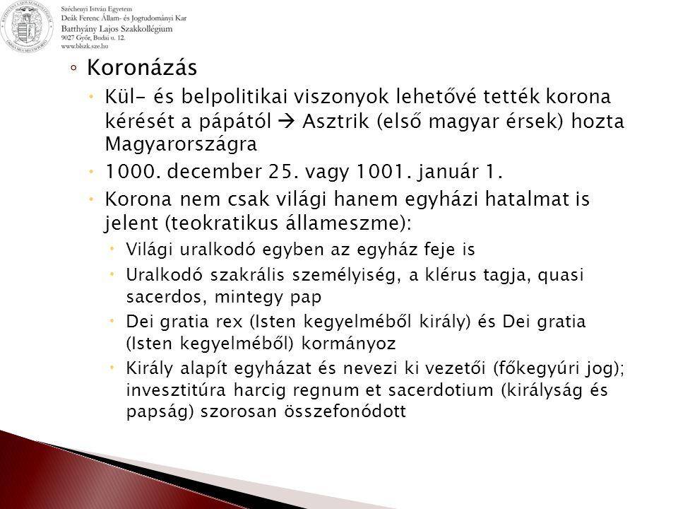 1.Honfoglalás előzményei Őstörténet Út a Kárpát-medencébe 2.