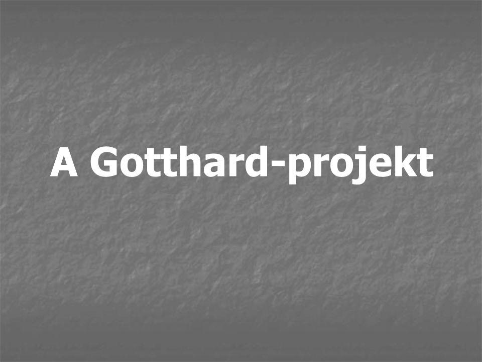 A Gotthard-projekt