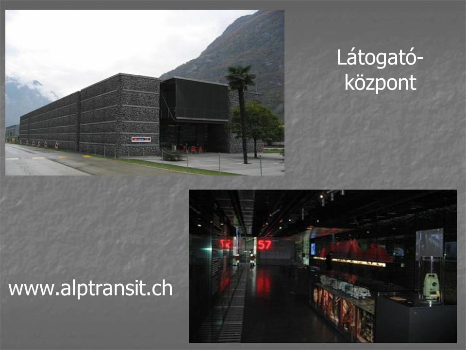 Látogató- központ www.alptransit.ch