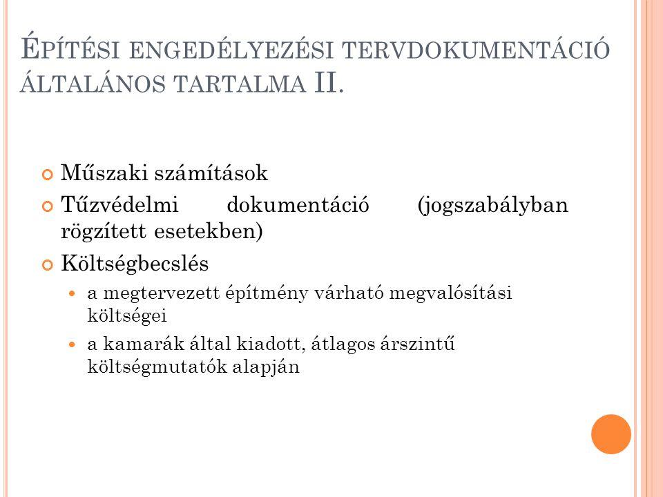 T ARTÓSZERKEZETI DOKUMENTÁCIÓ III.