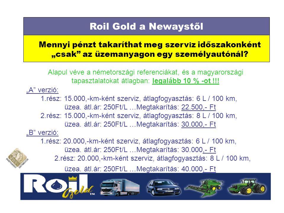 """Mennyi pénzt takaríthat meg szerv i z időszakonként """"csak"""" az üzemanyagon egy személyautónál? Roil Gold a Newaystől Alapul véve a németországi referen"""