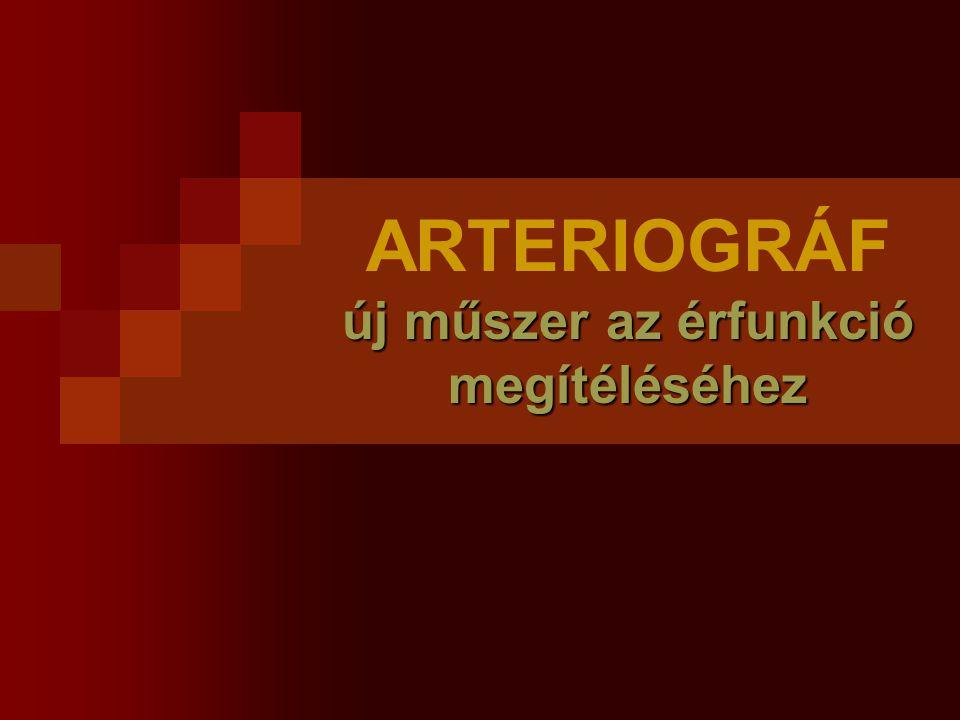Érfal merevség fokozódik Kor Hypertonia Veseelégtelenség Atherosclerosis