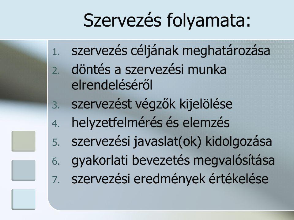 Résztechnikák Megfigyelés 1.