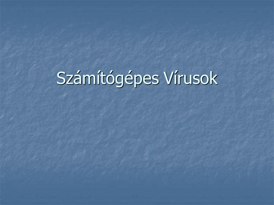 Az antivírus programok működési elve A vírusirtó szoftverek két alapelven működnek.
