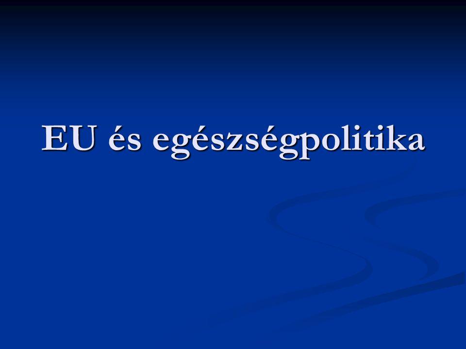 EU és egészségpolitika