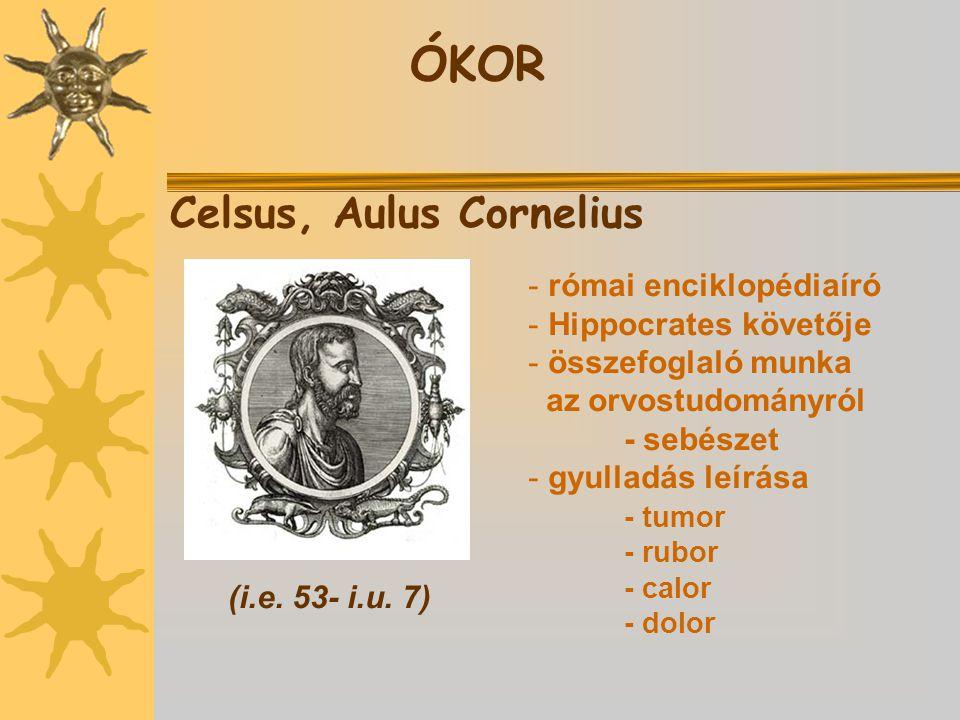 Celsus, Aulus Cornelius (i.e.53- i.u.