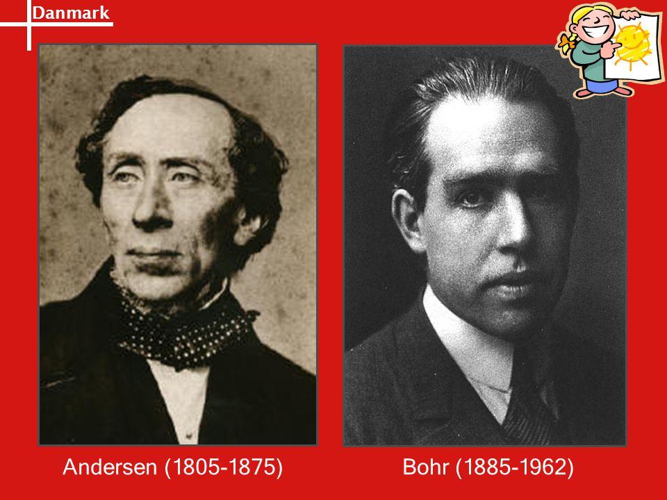 Danmark Andersen (1805-1875)Bohr (1885-1962)