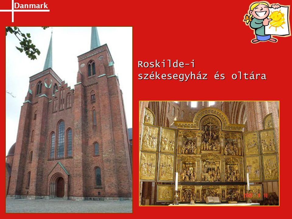 Danmark Roskilde-i székesegyház és oltára