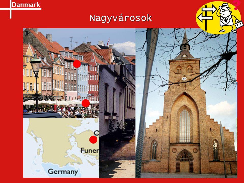 Danmark Nagyvárosok