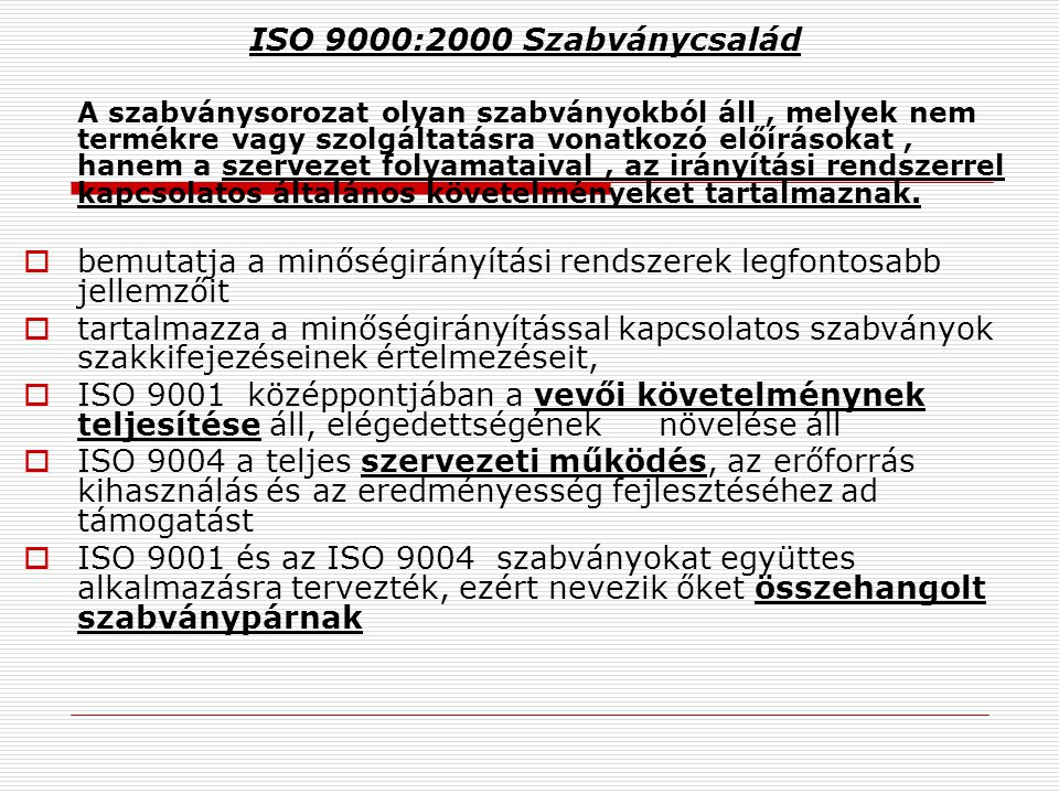 ISO 9000 : 2000