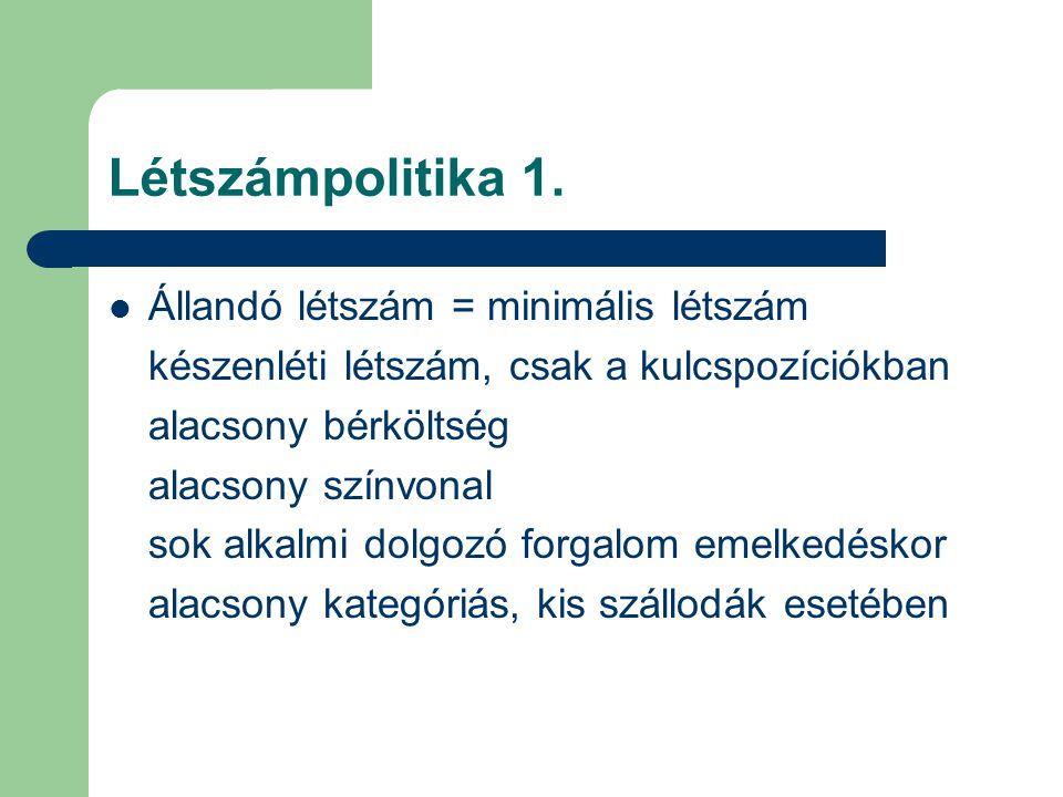 Létszámpolitika 2.