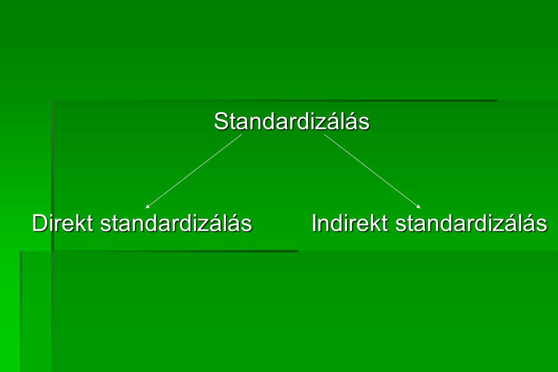 A nyers mutatók előnyei és hátrányai NYERSmutatók ELŐNYÖKHÁTRÁNYOK Az aktuális helyzetet egyetlen számértékbe összefoglaló mutatók.