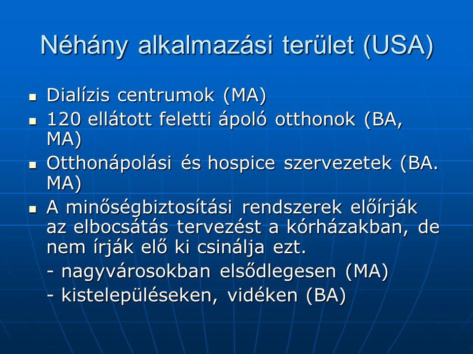 Szociális munkások nemzeti egyesülete küldetésnyilatkozata az egészségügyi szociális munkáról (NASW 2003) Az egészségügyi szociális munka célja: Az egészségügyi szociális munka célja: - Hozzájárulni egyének, családok működéséhez, amikor változások következnek be betegségük, fogyatékosságuk, képesség kiesésük miatt pszichikai, mentális státusukban, vagy szociális szerepükben - Megelőzni szociális és emocionális problémákat melyek akadályozzák a fizikai és mentális egészséget, vagy a megfelelő kezelés elvégzését