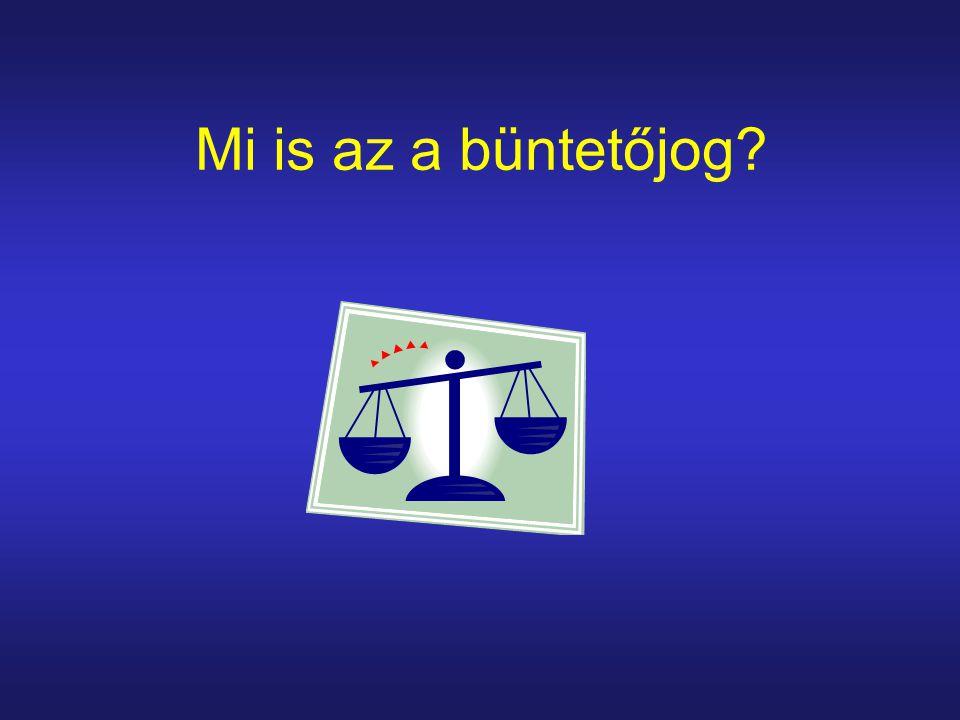 Mi is az a büntetőjog?