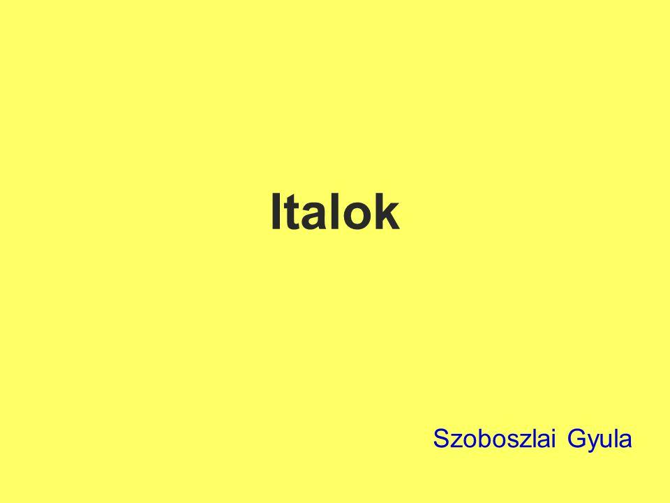 Italok csoportosítása Italok:  Alkoholtartalmú italok : Borok Sörök Szeszesipari-termékek  Alkoholmentes italok