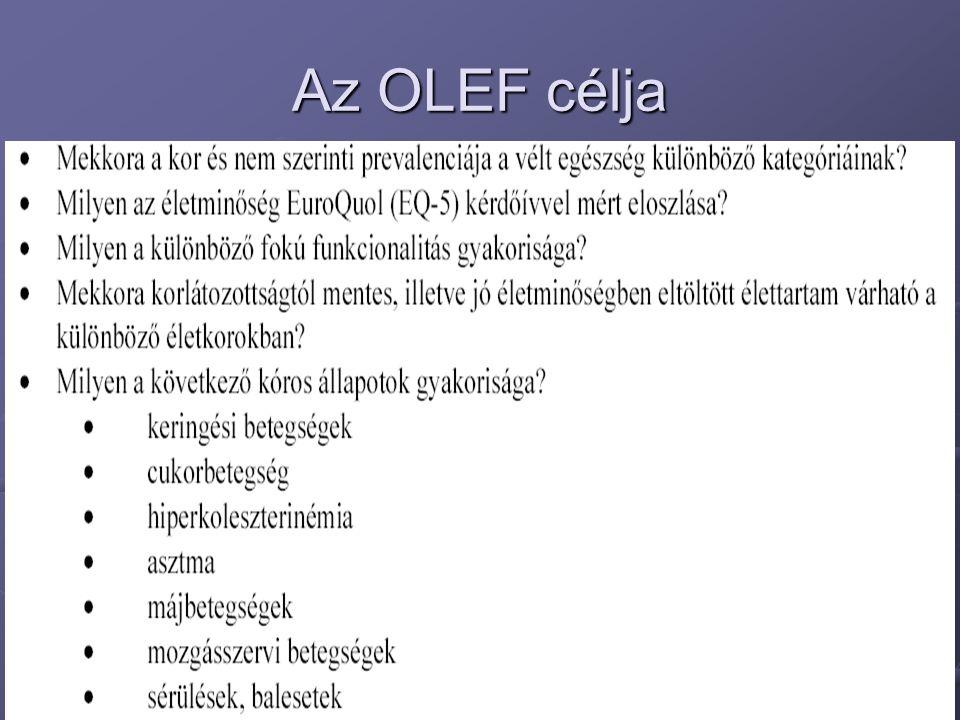 Az OLEF célja