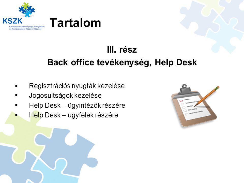 Regisztrációs nyugta nyomtatása