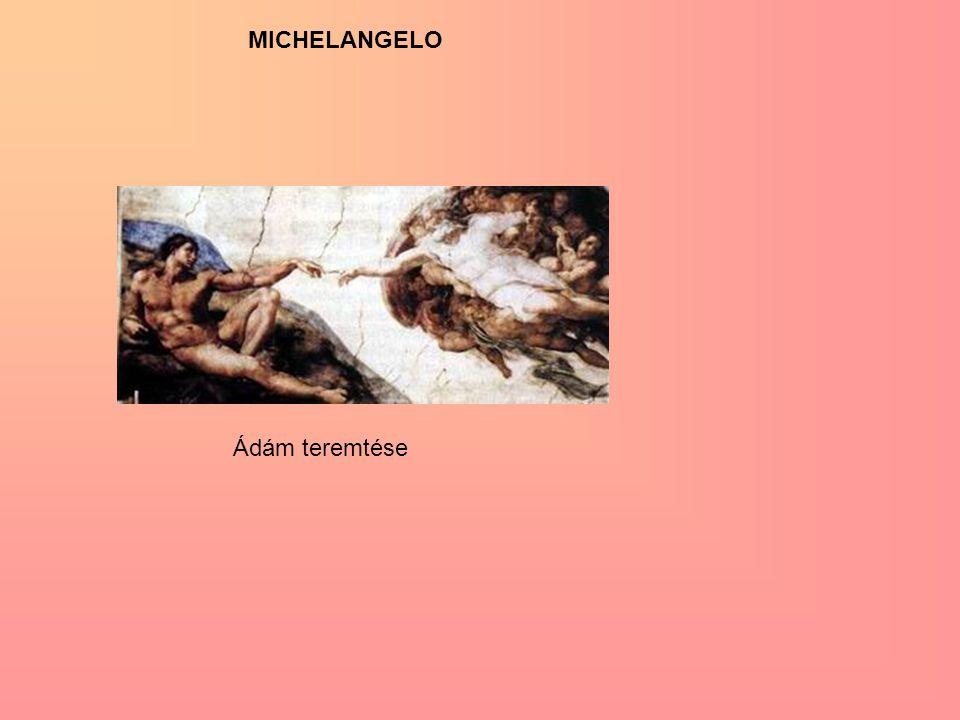 Ádám teremtése MICHELANGELO