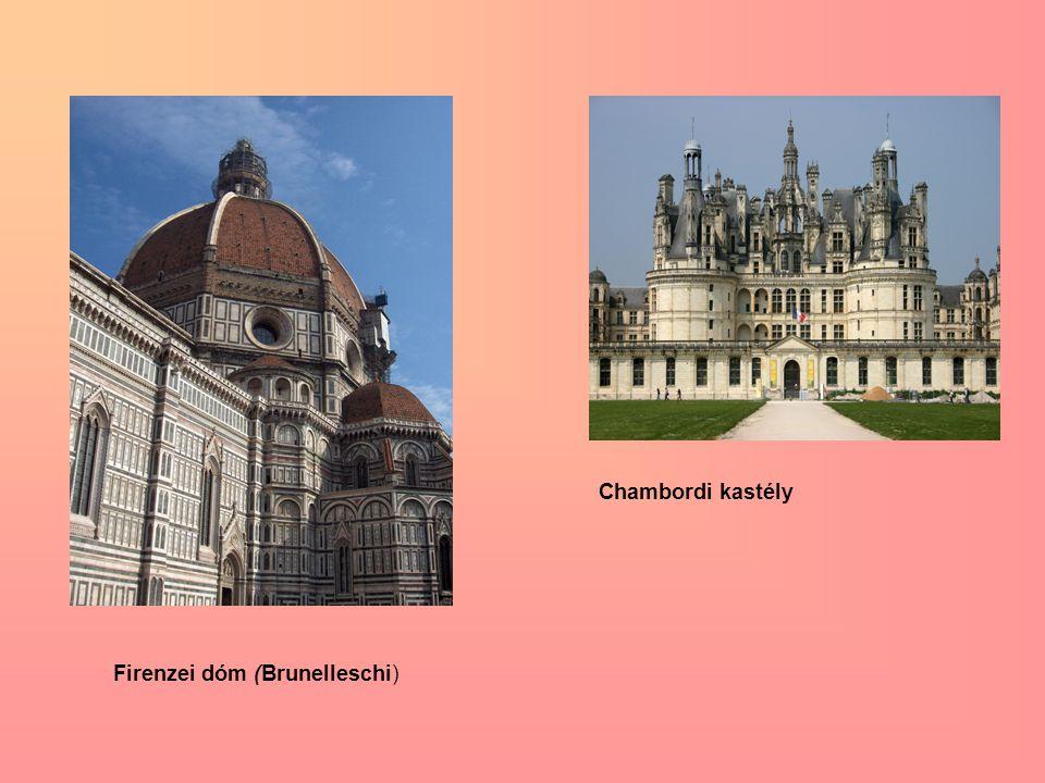 Firenzei dóm (Brunelleschi) Chambordi kastély