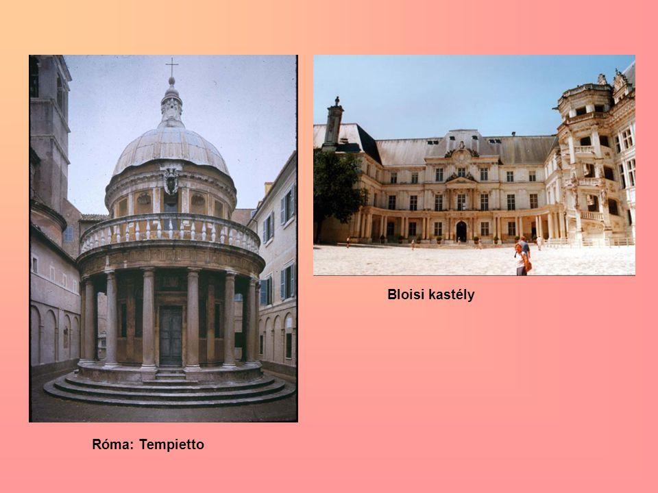 Róma: Tempietto Bloisi kastély