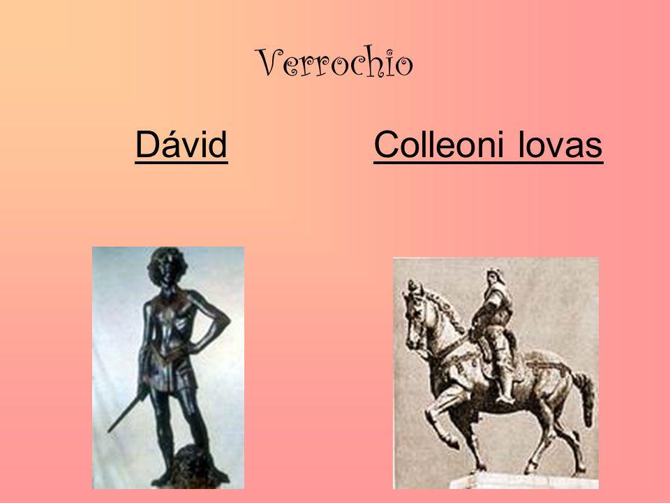 Verrochio DávidColleoni lovas