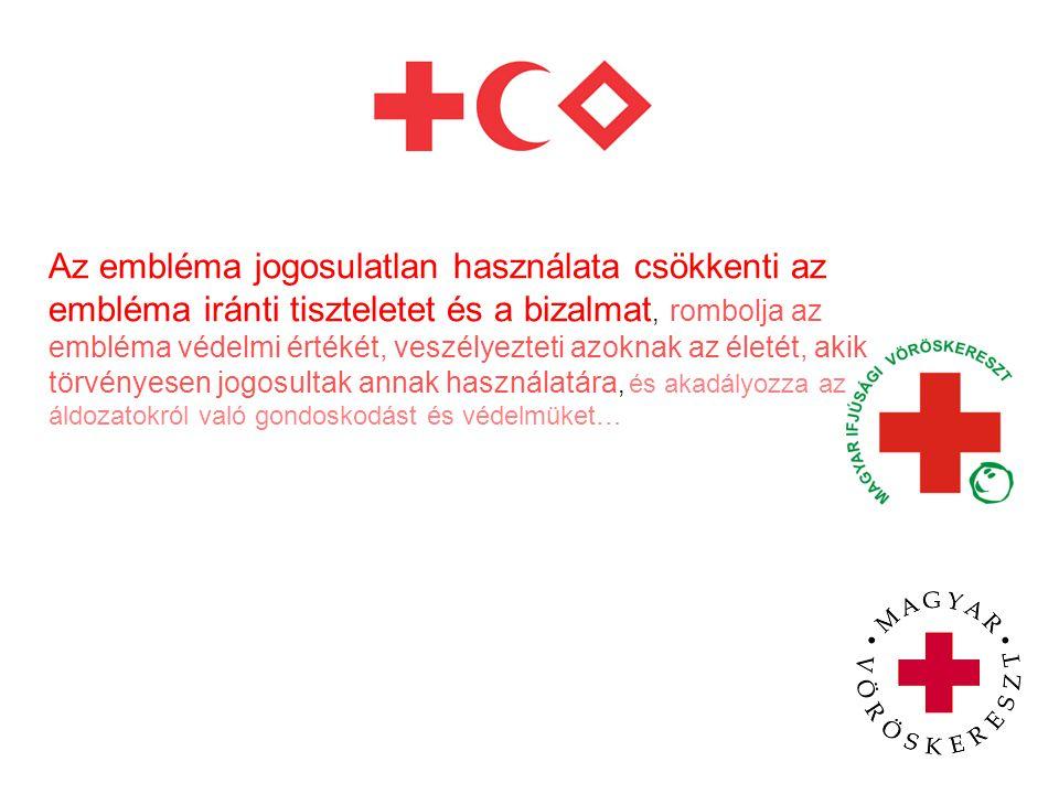 Magyarországon számos egészségügyi és egyéb szolgáltató használja vöröskereszt emblémát, ennek következtében ezt a szimbólumot sokan az egészséggel/betegséggel kapcsolatos szolgáltatással azonosítják.