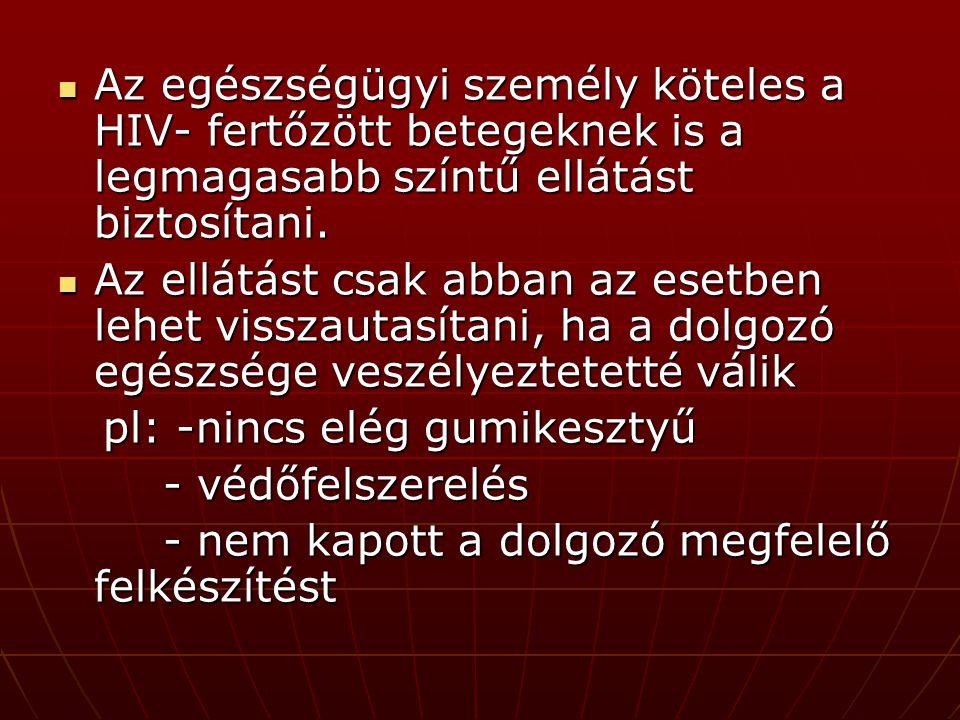 ˝A beteg kötelezettségei˝ 1997 évi CLIV.tv.
