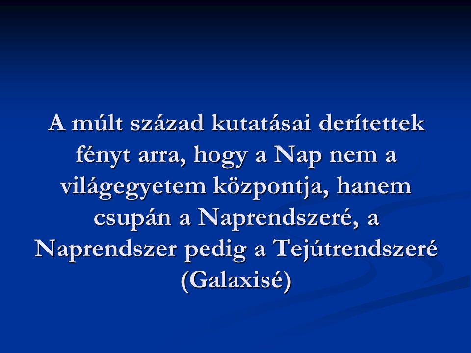 Az univerzum felépítése - Galaxis - Extragalaxis - Metagalaxis TEJÚTRENDSZER Csillagmilliárdok összeolvadó képe.