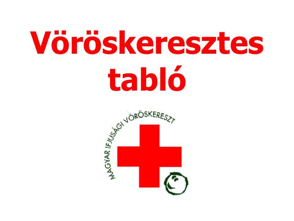 Vöröskeresztes tabló