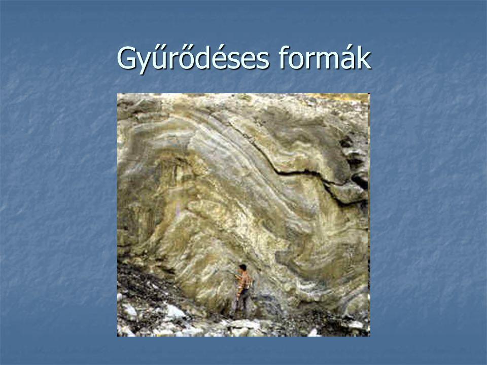 Vetődés Vetődéskor a szilárd kőzetanyag törésvonalak mentén függőleges, esetleg vízszintes irányban elmozdul.