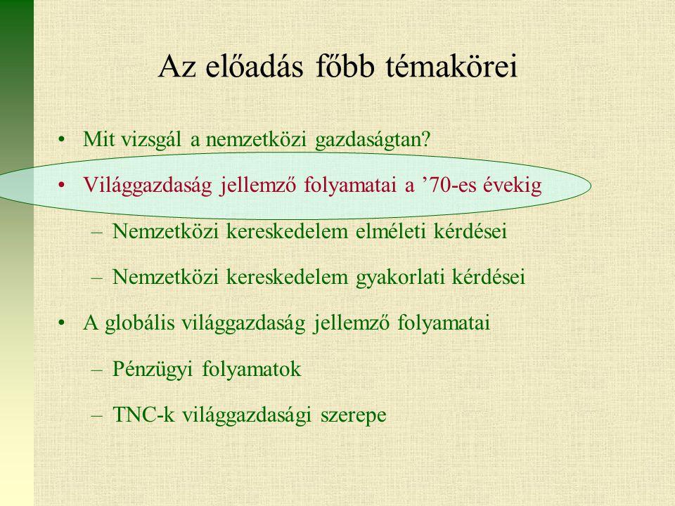 Külföldi TNC-k K+F tevékenysége Magyarországon Forrás: Kukely Gy.