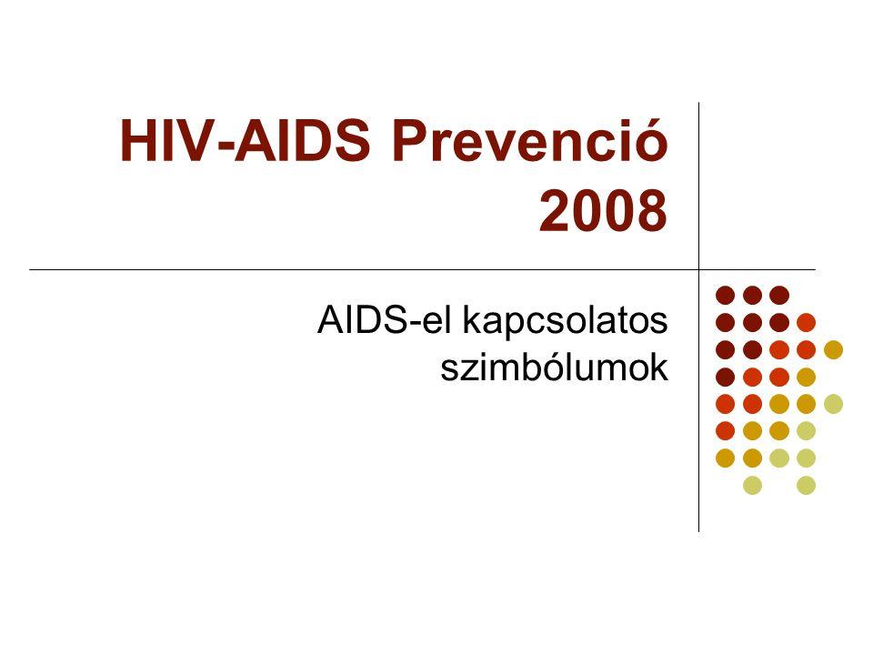 HIV-AIDS Prevenció 2008 AIDS-el kapcsolatos szimbólumok