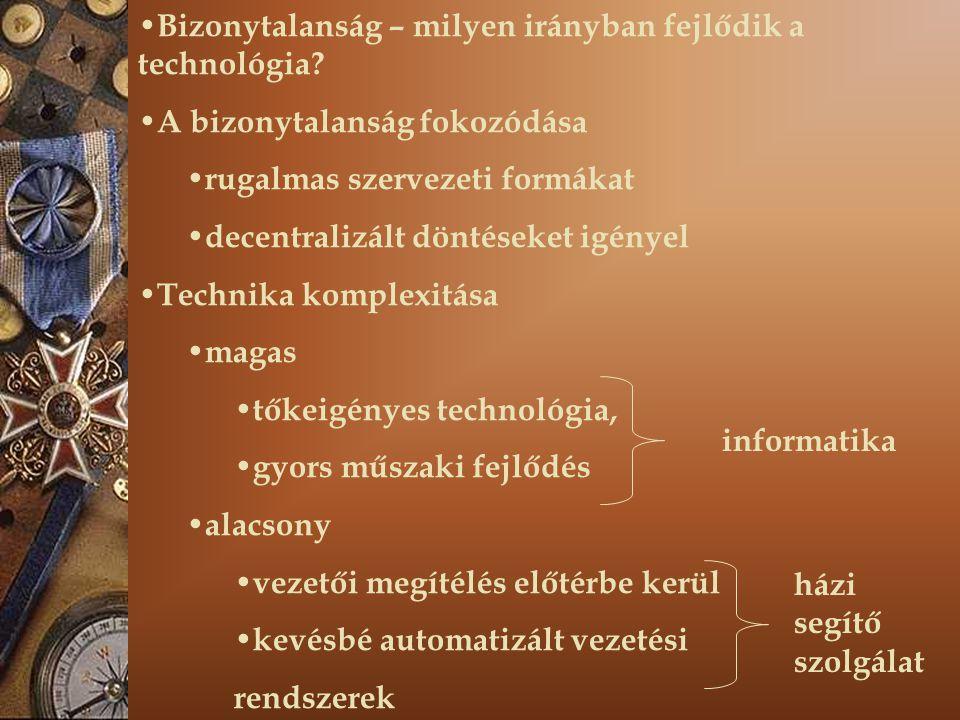 4.Technológia (alaptevékenység) 4.1. Technikai eszközök, létesítmények 4.2.
