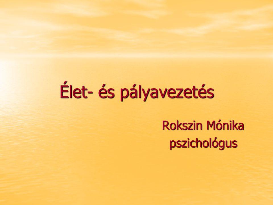 Serdülőkor- Ifjúkor pszichológiája