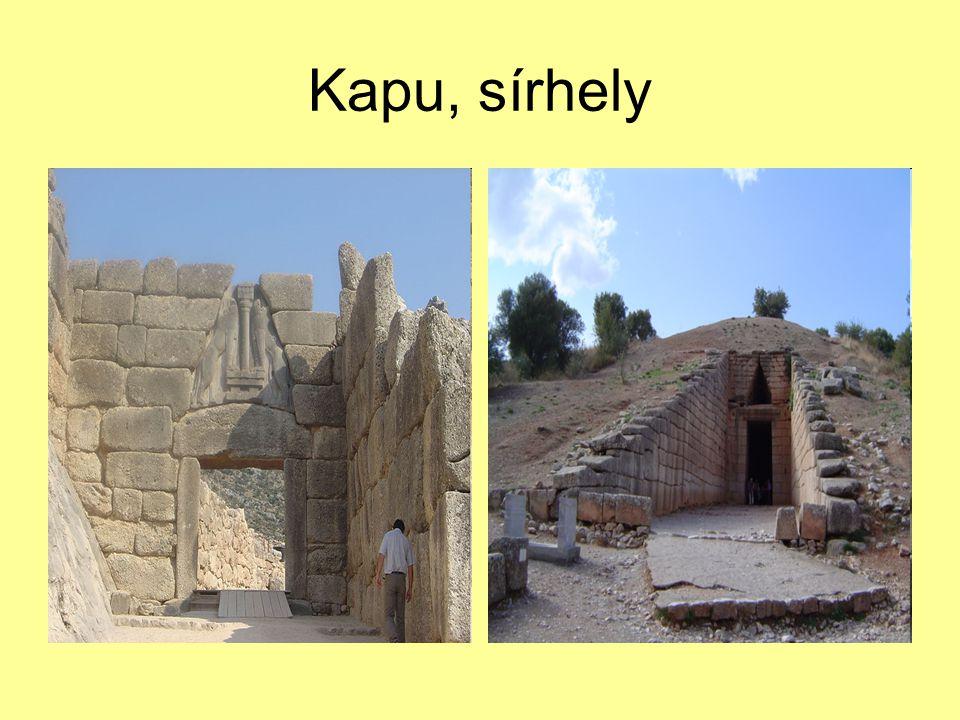 Kapu, sírhely