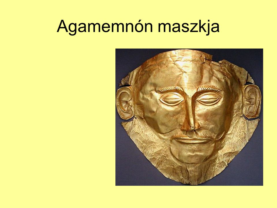 Agamemnón maszkja