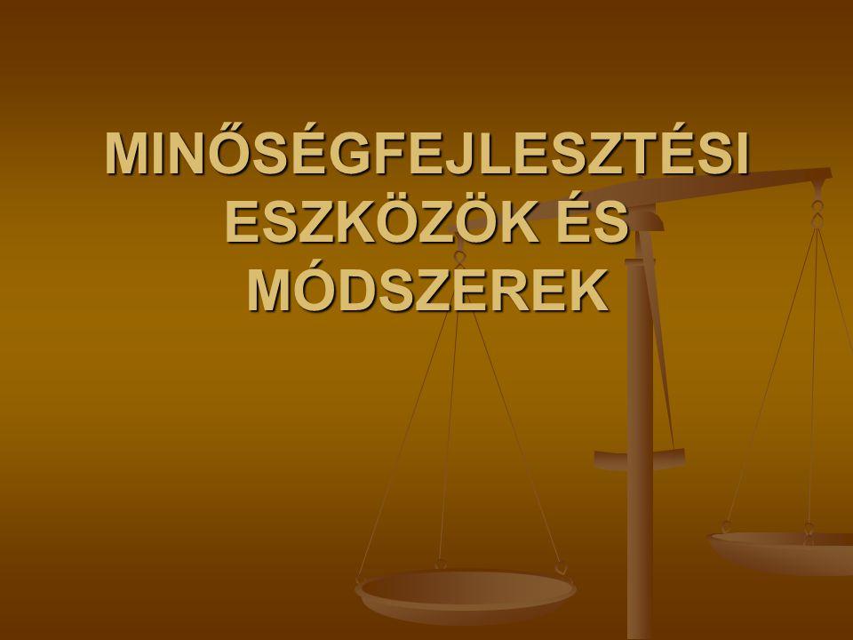 CONTINUOUS QUALITY IMPROVEMENT (Folyamatos minőségfejlesztés - Európa Tanács ajánlása) (Folyamatos minőségfejlesztés - Európa Tanács ajánlása) Minőség