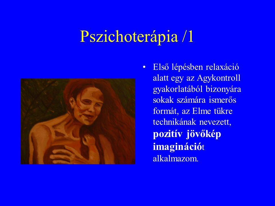 Pszichoterápia /1 Első lépésben relaxáció alatt egy az Agykontroll gyakorlatából bizonyára sokak számára ismerős formát, az Elme tükre technikának nev