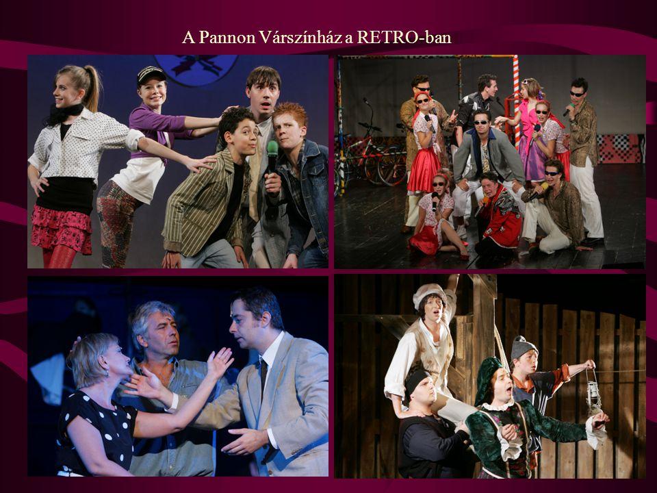A Pannon Várszínház a RETRO-ban