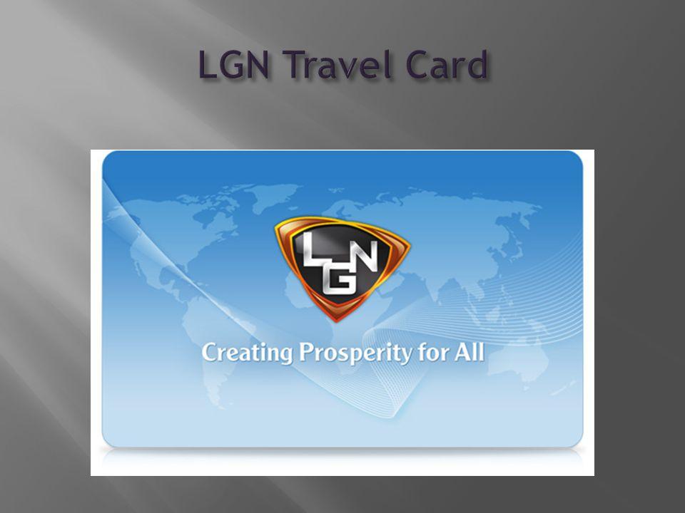 AZ LGN ÚJ TERMÉKETRAVEL CARD Mostantól Önnek sem luxus az utazás.