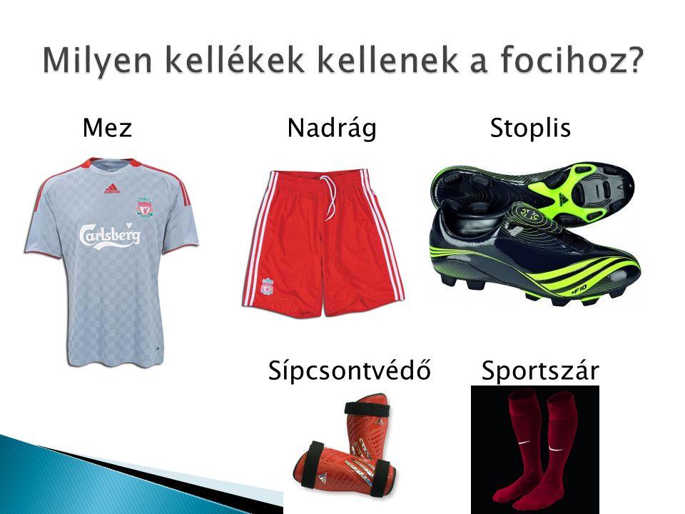 Mez Nadrág Stoplis Sípcsontvédő Sportszár
