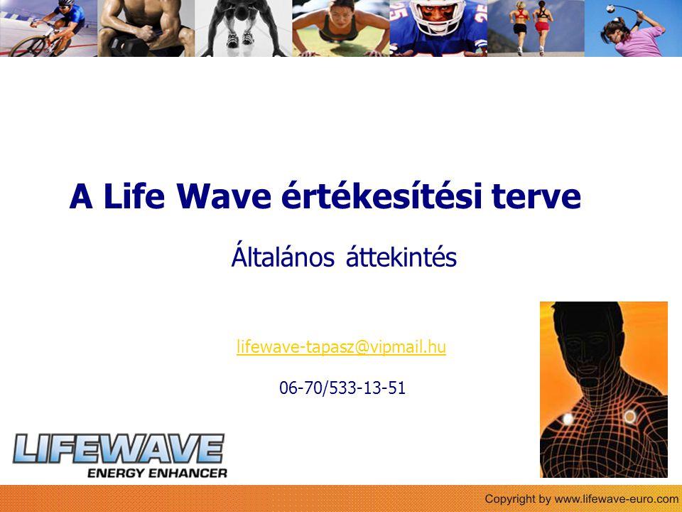 Sie A Life Wave értékesítési terve Általános áttekintés lifewave-tapasz@vipmail.hu 06-70/533-13-51