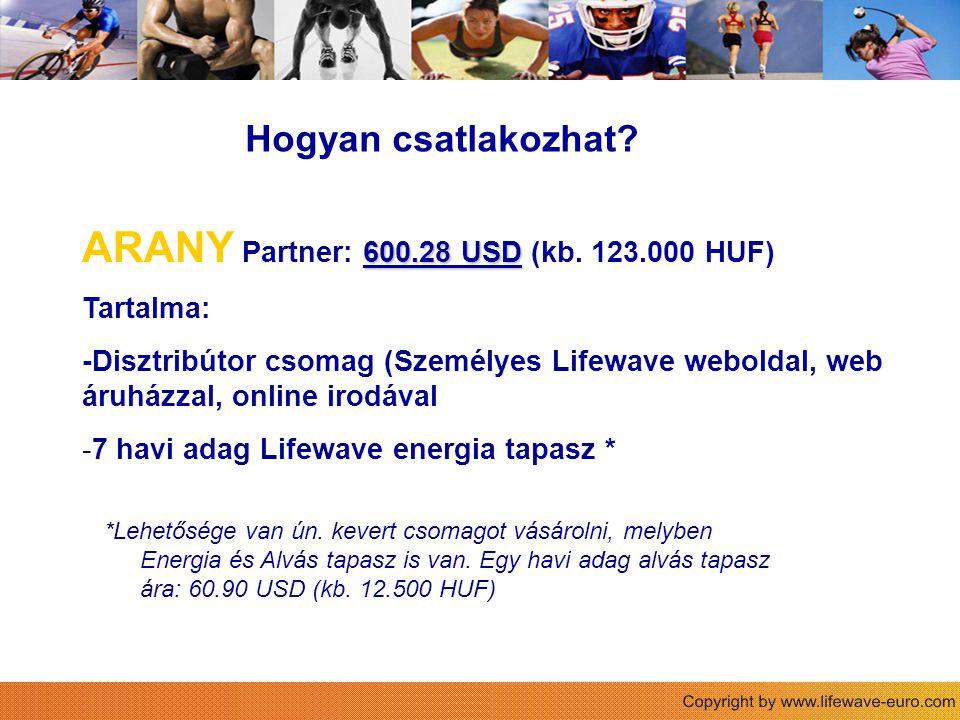 Sie Hogyan csatlakozhat.600.28 USD ARANY Partner: 600.28 USD (kb.