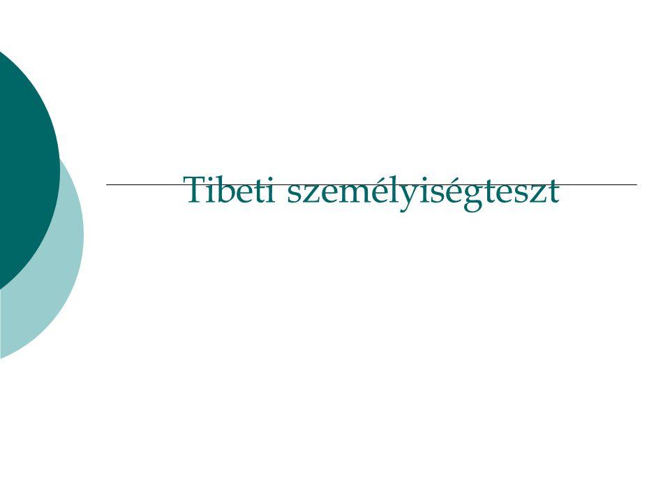 Tibeti személyiségteszt