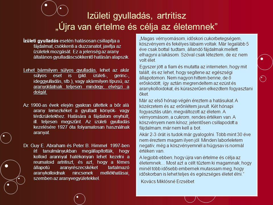Még néhány terület, ahol az aranyoldat jótékonyan kifejti hatását Jelentősen enyhíti az asztmatikus tüneteket.