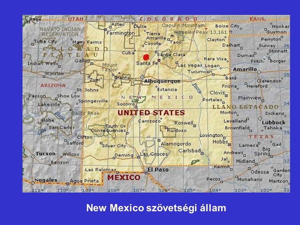 New Mexico szövetségi állam