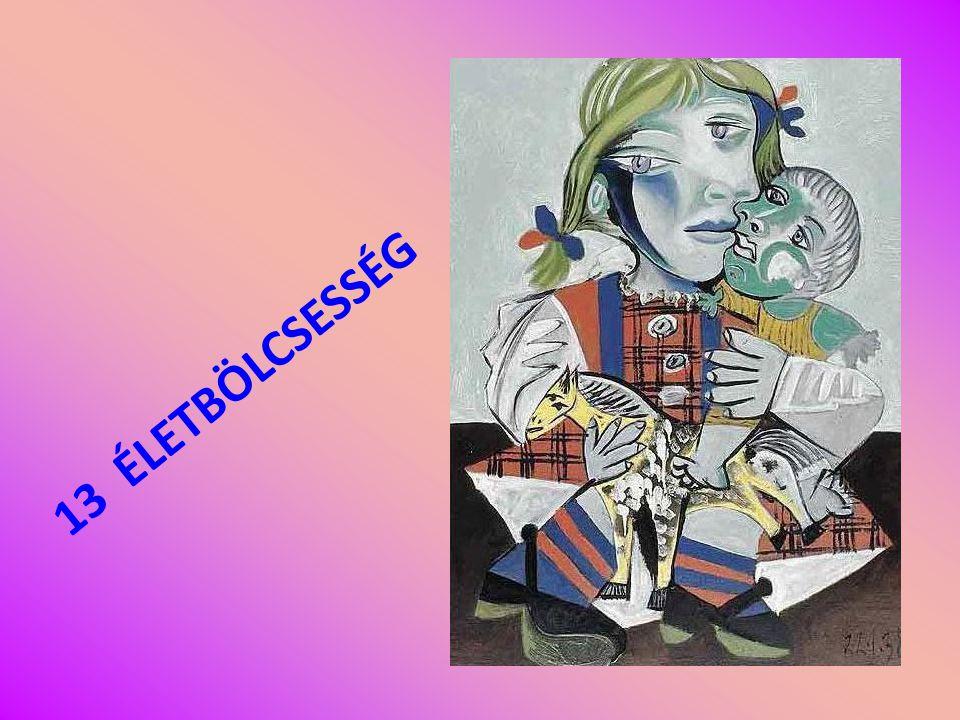 ÉLETBÖLCSESSÉGEK Picasso illusztrációkkal